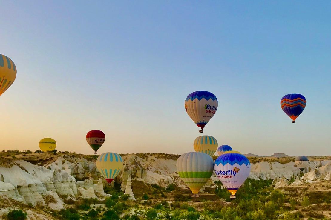 Hot Air BalloonRide