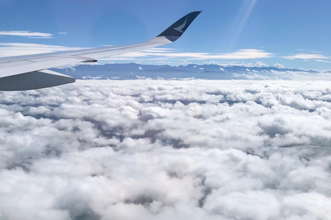 Arriving in Taiwan