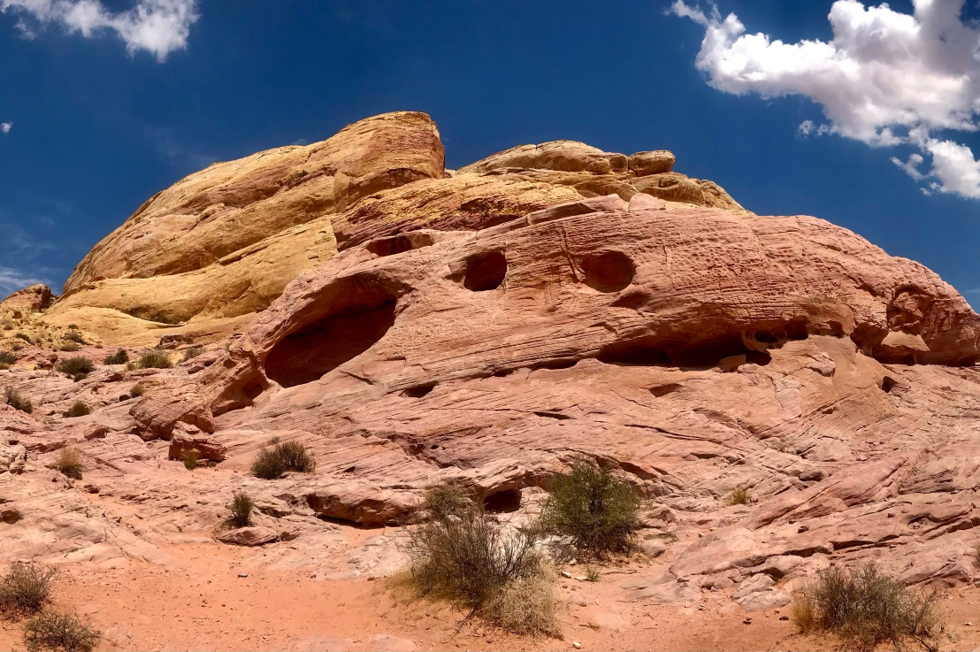 Valley of Fire State Park – White DomesTrail