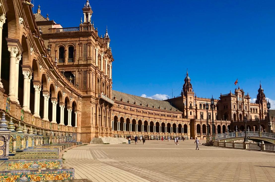 Sevilla Cathedral & Plaza deEspaña